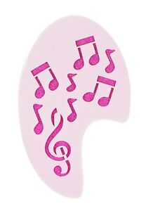 Musical Notes Right Side Face Painting Stencil approx 12cm x 8cm  Washable