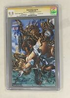 Notti & Nyce (2014) #3E (Counterpoint Comics) CGC 9.9 Signed Variant