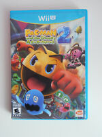 Pac-Man and the Ghostly Adventures 2 Game Complete! Nintendo Wii U