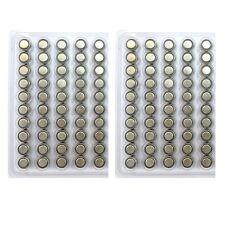 100PCS AG13 LR44 LR154 157 303 357 1.5V Alkaline Button Cell Watch Battery Lot
