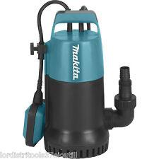 Pompe à eaux claires immergées 800W - MAKITA PF0800