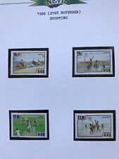 Nevis 1986 Sporting Stamps MNH