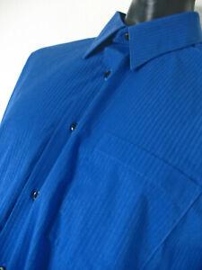 Van Huesen Blue men's shirt Tall size 18 34/35