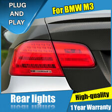For BMW M3 E92 Red LED Rear Lamps Assembly LED Tail Lights 2011-2013
