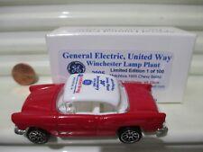 Matchbox 2005 GENERAL ELECTRIC UNITED WAY 1955 Chevrolet Bel Air 1 of 100 NuBoxd