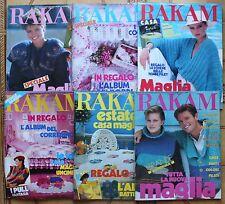 Riviste Rakam 1984 con inserto Inventa Casa o Spiega Tutto Vendo singolarmente