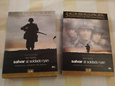 Salvar al Soldado Ryan Tom Hanks Steven Spielberg Ed Especial 2 x DVD - T