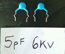 2 x TV Repair 5pF 6kV 5D Blue Ceramic Disc Capacitors TV EAY60724304 LCD LG -SL