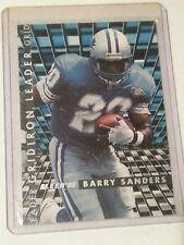 1995 Fleer Gridiron Leader #5 Barry Sanders Detroit Lions Football Card