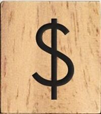 INDIVIDUAL WOOD SCRABBLE TILES! 0.25 CENTS PER TILE $ Dollar Sign Symbol