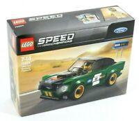 LEGO 1968 FORD MUSTANG BULLITT MODEL CAR RACING SET 75884 SPEED CHAMPIONS - BNIB