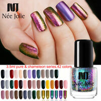 NEE JOLIE Nail Polish Fast Dry Pure Tips Chameleon Nail Art Polish Varnish DIY