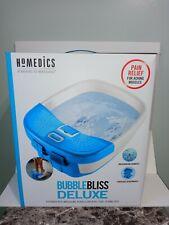 Homedics Bubble Bliss Deluxe Footbath.