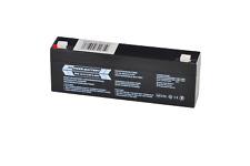 12V 2,3Ah RPower VDS Batterie für Gefahrenmeldeanlagen (BMA, EMA, ÜMA, ELA)
