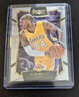2015-16 NBA Panini Select Basketball #7 Kobe Bryant LA Lakers Retirement Yr 🔥🔥