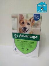 Bayer Advantage antiparasitaire Flea Chiens Dogs x 4 pipettes 400 - de 25 kg