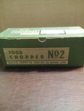 VINTAGE UNION MFG. CO UNIVERSAL FOOD CHOPPER MODEL# 2