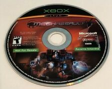 Original Xbox Live MechAssault Game (Disc Only) By Microsoft Game