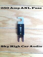 250 Amp ANL Fuse by Sky High Car Audio Inline Fuse for Car Audio