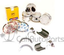 88 89 Acura Integra 1.6 D16A1 Pistons & Rings P29 & Main Rod Engine Bearings
