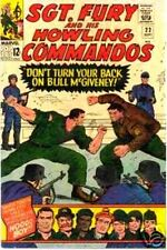 SGT FURY 22 F SERGEANT & HIS HOWLING COMMANDOS COURT MARTIAL