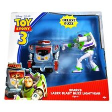 Disney Toy Story Deluxe Buzz Lightyear & Sparks Action Figures Play Set Gift Toy