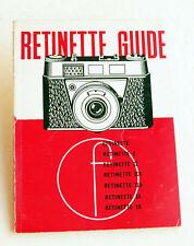 *c1964* ● Kodak RETINETTE GUIDE 6th Edition (Focal Press) ● Softbound 72pp