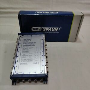 Spaun SMK 55163FA 4 Sat Active Multiswitch Cascadeable. Made in Germany