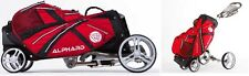 Golf Bag & Buggy in One - Alphard Duo Cart Deluxe Model
