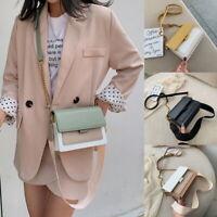 Damen Handtashe Umhängetasche Schultertasche Beuteltasche Tasche Kette Mode