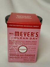 Mrs. Meyer's - Clean Day Scented Soy Candle Peppermint - 4.9 oz.