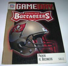 1997 GREEN BAY PACKERS vs TAMPA BAY BUCCANEERS BUCS NFL Program EX Brett Favre