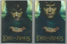 Lord of the Rings Fellowship of the Ring - Bonus Foil Box Topper Set of 2 Cards