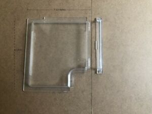 4701-00 -- Dexter RH Screen Door Slider, Clear for Series 5050 Radius Corner