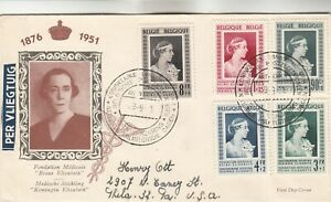 Belgium First Day Cover