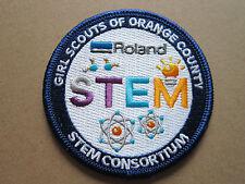 Girl Scouts Orange County STEM BSA Cloth Patch Badge Boy Scouts Scouting (L2K)