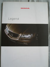 Honda Legend range brochure Jun 2000