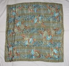 Vintage Silk Scarf 30 X 30 The Specialty House Made in Japan Beautiful