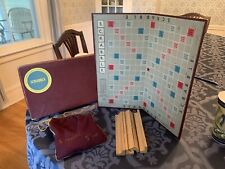 Org RARE  1948 SCRABBLE Board Game SELCHOW & RIGHTER / Used WITH SCRABBLE SACK /