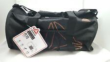 New Reebok PLYO SM Grip Duffle Bag - Black & Rose Gold Lurex    SB# 40