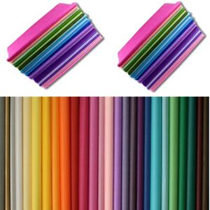 Tissue Paper Gift Wrapping Kids Craft Acid Free Bio Quality 15 Sheet 750 x 500mm