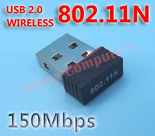 Mini Wireless Network Card WiFi Internet Adapter USB Dongle 802.11n/g/b 150Mbps