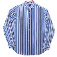Polo Ralph Lauren Men's Striped Estate Classic Fit Button Up Shirt - Size Large