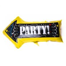 """32"""" Party This Way Sign Arrow Balloon Birthday Party Decoration"""