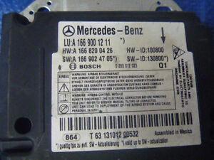 13 14 15 Mercedes Benz ML350 ML550 ML63 Airbag Air Bag Control Module OE OEM
