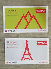 Fahrplan SNCF - TGV Lyria Destination Schweiz / Frankreich - nicht Deutsche Bahn