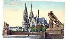 D 539-Strasburgo, guarnigione Chiesa U Münster, M. ponti figure, 1911 post. GLF.