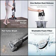 Eureka Power Speed Turbo Spotlight Bagless Upright Vacuum Cleaner, Pet Tool, Ora