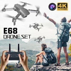 4K 1080P Kamera WiFi Drohne FPV Geste Foto Selfie Faltbare RC Quadcopoter Drone