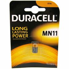 1 x Duracell MN11 6V Alkaline Battery - 11A A11 GP11A L1016 CX21A E11A Security